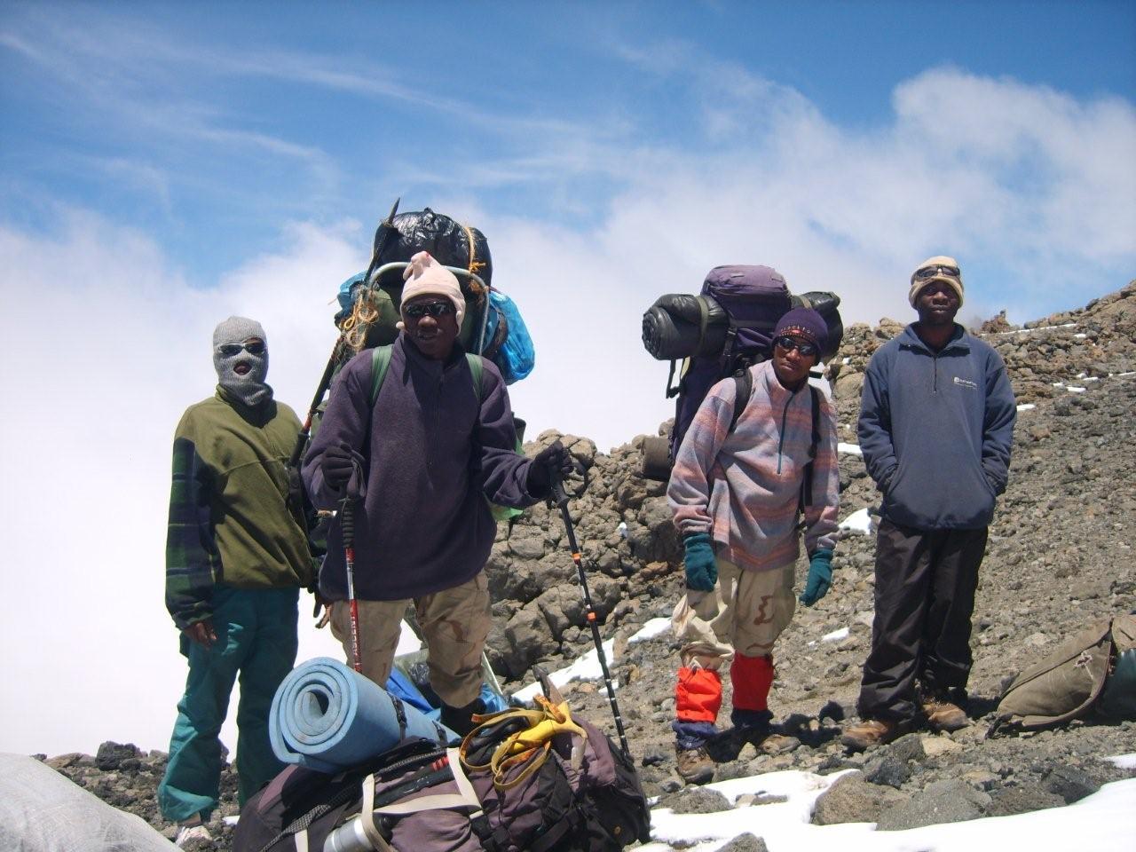 Kilimanjaro Alpine Service Staff on Kilimanjaro