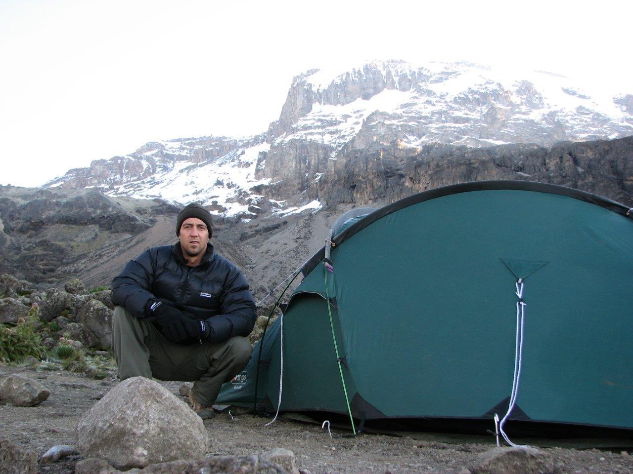 Vango Hydra Tent on Kilimanjaro